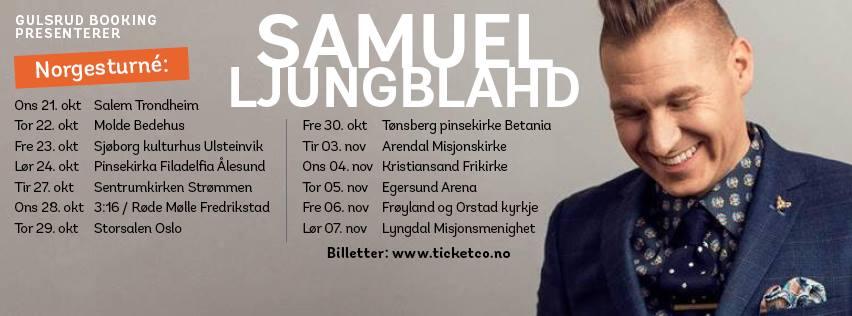 Mosaic blir med Samuel Ljungblahd på Østlandskonserter